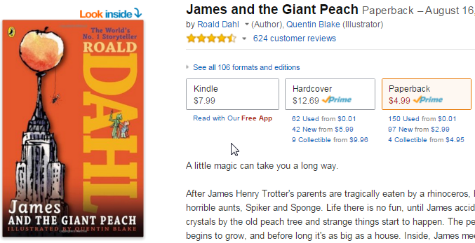 2015-11-12 08_02_23-James and the Giant Peach_ Roald Dahl, Quentin Blake_ 9780142410363_ Amazon.com_
