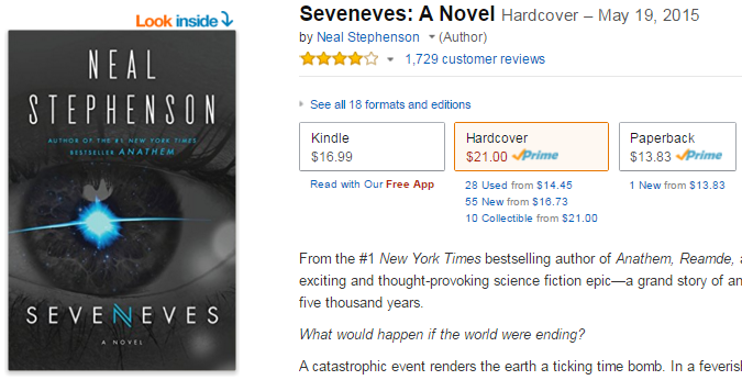 2015-11-12 08_12_19-Seveneves_ A Novel_ Neal Stephenson_ 9780062190376_ Amazon.com_ Books
